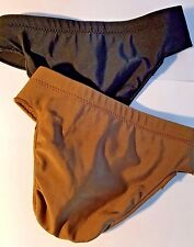 New M Stevens Mens Dance Belt (1007) with Thong Small  Brown