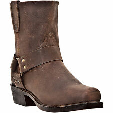 Dingo Mens Gaucho Leather Rev-Up 7in Harness Cowboy Boots