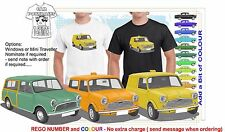 CLASSIC 1963-69 MINI VANS & TRAVELLER ILLUSTRATED T-SHIRT MUSCLE RETRO CAR