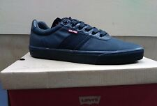 MENS LEVIS MILES BLACK CASUAL SNEAKERS 517443A48  CASUAL NEW IN BOX COMFORT