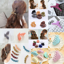 Elegant Women Acrylic Ponytail Hair Clips Hairpin Claw Clamp Headwear Gift
