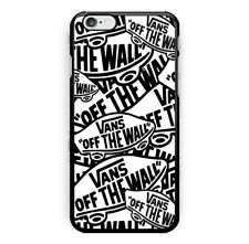 New Vans Of The Wall Logo Print On Hard Plastic Case For iPhone 5s 6 6s 7 (Plus)