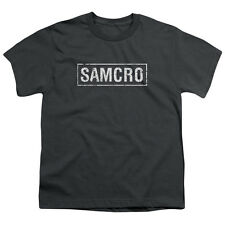 Sons of Anarchy SOA SAMCRO Licensed  Youth T-Shirt S-XL