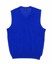 Club Room Room Men's Cotton Solid Sweater Vest