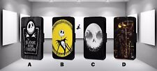 NIGHTMARE BEFORE CHRISTMAS FAUX LEATHER FLIP PHONE CASE COVER L68