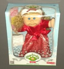 Cabbage Patch Kids Doll 2012 Limited Edition Holiday Blonde Hair Blue Eyes (Age: