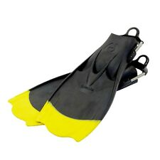 Hollis F1 Technical Diving Fin - Yellow Tip