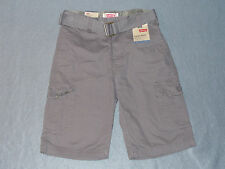 NWT Boys Levi's Belted Relaxed Cargo Shorts Size 12 - MSRP $42