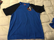 NEW BEAR GRYLLS BG CRAGHOPPERS BLUE BLACK SURVIVAL SHIRT T-SHIRT SIZE LARGE L