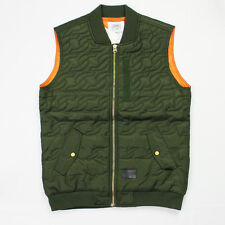 Crooks & Castles The Links Quilted Vest in Rifle Green NWT Crooks FREE SHIPPING