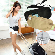 Fine Travel Pouch Hidden Compact Security Money Passport ID Waist Belt Bag Pop