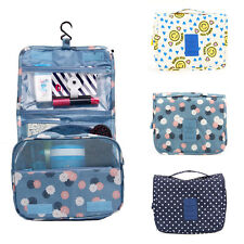 Travel Camping Toiletry Hanging Wash Portable Makeup Cosmetic Storage Bag Pouch
