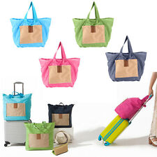 Shopping Foldable Reusable Bags Women's Travel Eco Shoulder Pouch Tote Handbag
