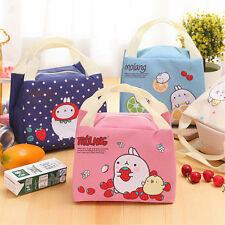 d Thermal Picnic Lunch Bag Insulated Cooler Handbag Cute Food Storage Pouch Tote