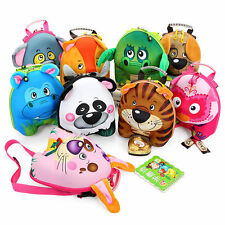 Cartoon Child Backpack 3D Lovely Animal Backpack Kindergarten Small School Bag