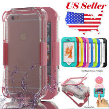 For Apple Iphone 6S Plus 5S 5 SE Waterproof Dirtproof Protective Case Full Cover