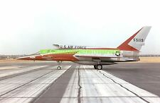 USAF F-107A Color Photo Military Aircraft jet Air Force Veteran  F 107