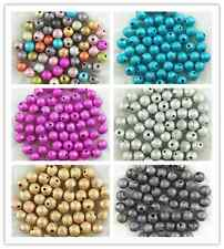 DIY beads Quality Acrylic Stardust Round Spacer Loose Beads 4mm, 6mm, 8mm ,10mm