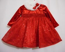 Holiday Editions Toddler Girls Christmas Dress Red Sequin Toddler Various Sizes