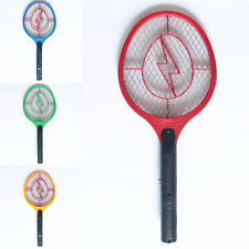 1Pc Rechargeable LED Electric Bug Pest Fly Mosquito Killer Swatter Zapper Racket