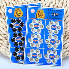36Pcs Button Snap Metal New Sewing Accessory Press Metal Snap Fasteners