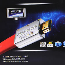 Red HDMI DVI 24+5 Male to HDMI Female HDMI to DVI HDMI Adapter Gold Plated NEW
