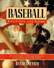 DAVID CANTANEO - Baseball Legends and Lore: A ** Very Good Condition **