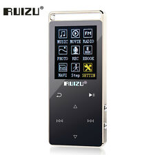 Original RUIZU D01 Touch Screen Mp3 player 8GB Recorder Mp3 music player