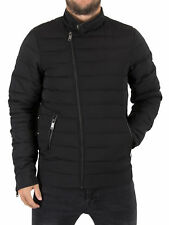 Scotch & Soda Men's Light Quilted Jacket, Black