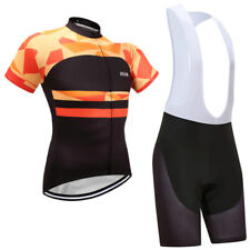Bike Road Cycling Suits Short Sleeve Jersey Bib Shorts Racing Shirts Tights Sets