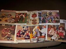 #10 -  Stuffed Dolls & Clothing Patterns -  Assorted Brands - U-PICK One From 7