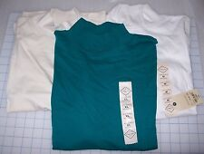 WOMENS ST JOHNS BAY MOCK NECK LONG SLEEVE SHIRTS MULTIPLE COLORS AND SIZES NWT