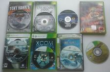 xbox and xbox 360 game lot