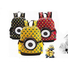 One Eye Minions Kindergarten Primary Student School Bag Child School Backpack