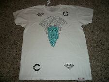 DIAMOND SUPPLY COMPANY New NWT Womens Shirt White Medium Large Crooks Castles