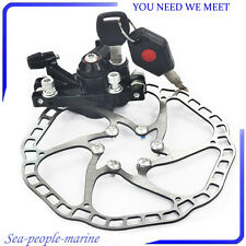 Mechanical Disc Brake Caliper with Lock 160mm Rotor For MTB Road Bicycle Great