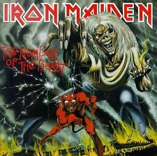 IRON MAIDEN - Number of the Beast - CD ** Brand New **