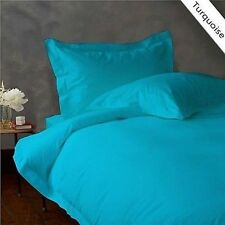 Bedding Item & US Size Solid { Turquoise } 1000 Thread Count Free Shipp American
