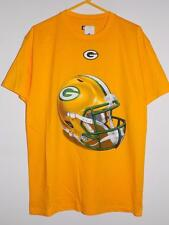 green bay packers t shirt piece of the game yellow nwt