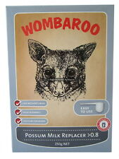 Wombaroo Possum & Glider Milk <0.8 or >0.8 baby joey wildlife supplement feed