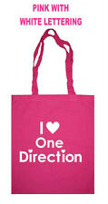 I LOVE HEART ONE DIRECTION SHOPPING SCHOOL TOTE BAG  X FACTOR CHRISTMAS GIFT  1D