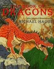THE BOOK OF DRAGONS Michael Hague hcdj Collection of Famous Classic Stories B126