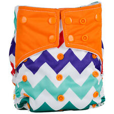 Reusable One Size Pocket Cloth Diapers Baby Nappy Cloth Pocket Diaper Nappy
