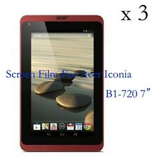 """3 Glossy Matte LCD Screen Protector Guard Film Cover For Acer Iconia B1-720 7"""""""