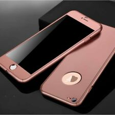 360°Full Cover Shockproof Case Hybrid Tempered Glass For Apple iPhone 6 7 Plus