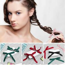 Bubble Handmade Ribbon Clip Ponytail Hairband Girl Hair Rope Butterfly Hairpin