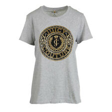 NWT JUICY COUTURE Black Label Cotton Glitter Rhinestone Embellished T-Shirt Top