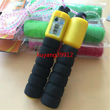Hot Sales Adjustable Skipping Jump Rope Counter Exercise Workout Gym Fitness