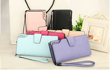 Women Leather Wallet Female Bag Purse Money Coin Wallets
