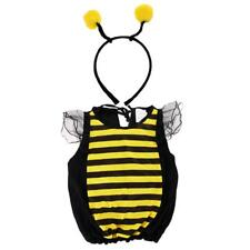Bumblebee Costume Child Honey Bee Toddler Party Fancy Dress Animal Insect Outfit